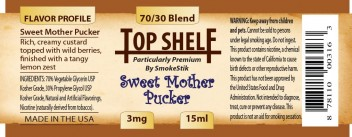 SmokeStik Top Shelf Sweet Mother Pucker