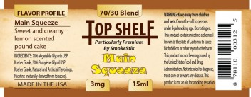 SmokeStik Top Shelf MainSqueeze