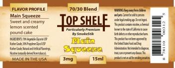 SmokeStik Top Shelf MainSqueeze