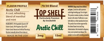 SmokeStik Top Shelf Arctic Chill