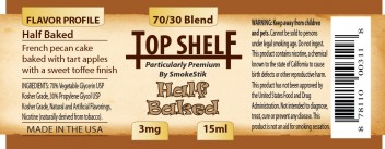 SmokeStik Top Shelf HalfBaked