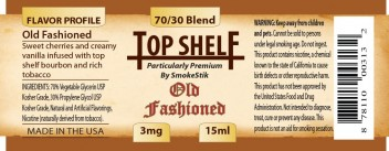 SmokeStik Top Shelf OldFashioned