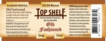 SmokeStik Top Shelf OldFashioned