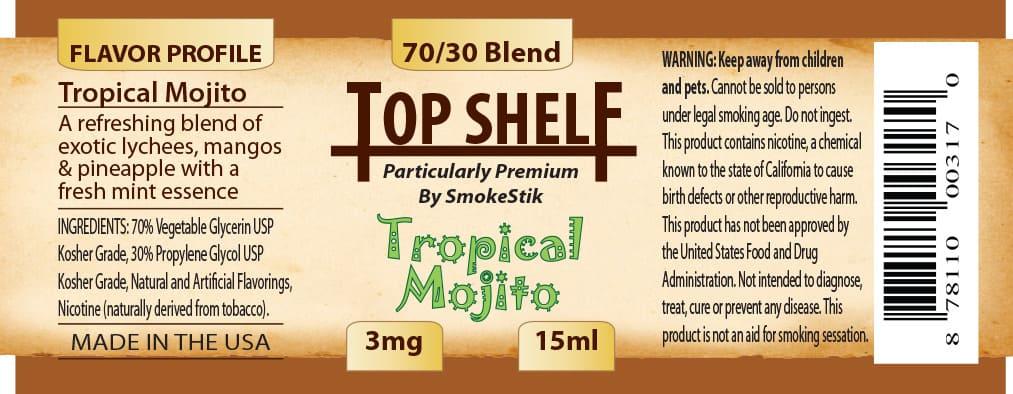 SmokeStik Top Shelf TropicalMojito