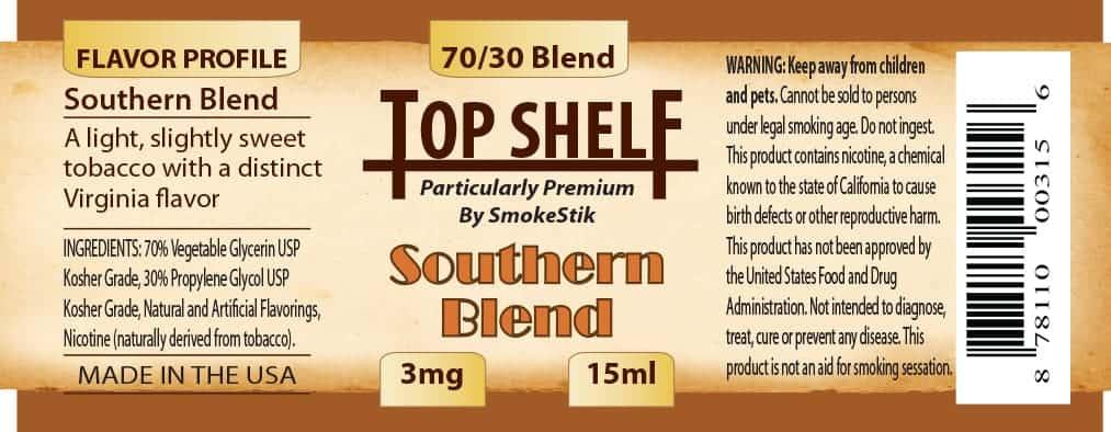 SmokeStik Top Shelf SouthernBlend