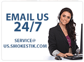 Email us at: service@us.smokestik.com